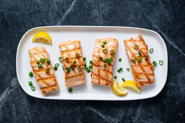 Grilled Salmon Case