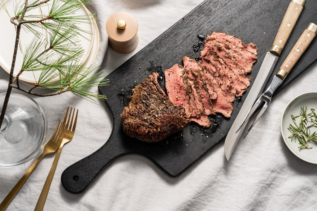 Cuisine Solutions Serve a Few Premium Sliced Top Sirloin