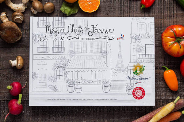 """Master Chefs of France"" Special Edition Cookbook"