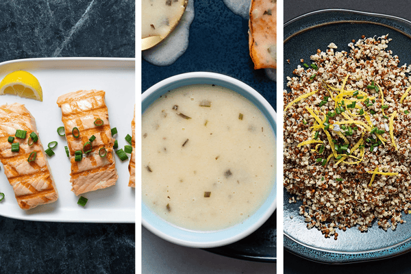 Grilled Salmon, Quinoa & Lemon Herb Sauce Father's Day Bundle