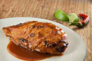 Seared Chicken Breast with Adobo Sauce
