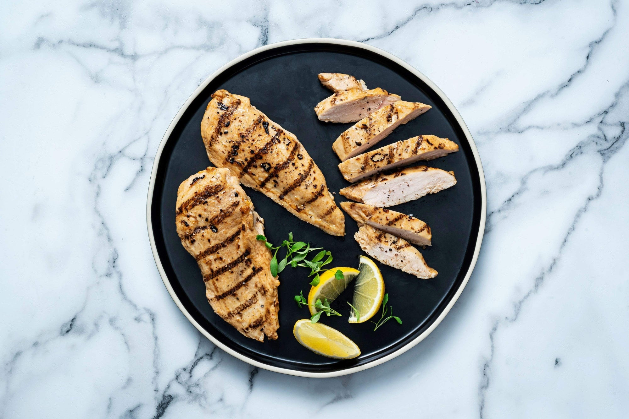 Seared Grilled Chicken Breast