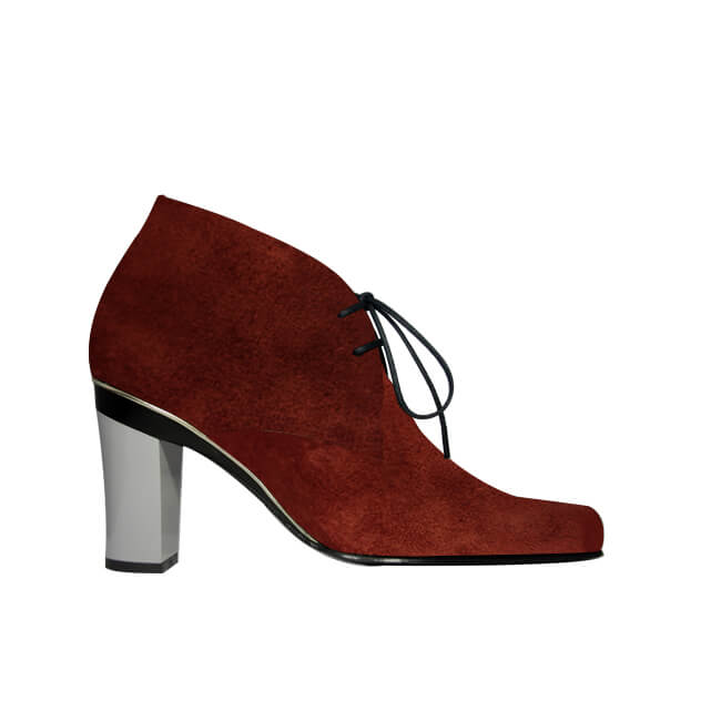 Anne Wine Suede