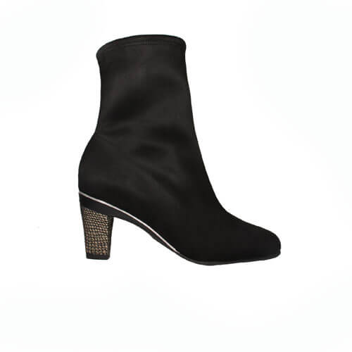 Adeline Black Vegan Velours