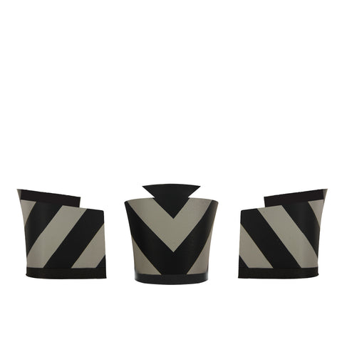 Christophe Grey and Black Chevron