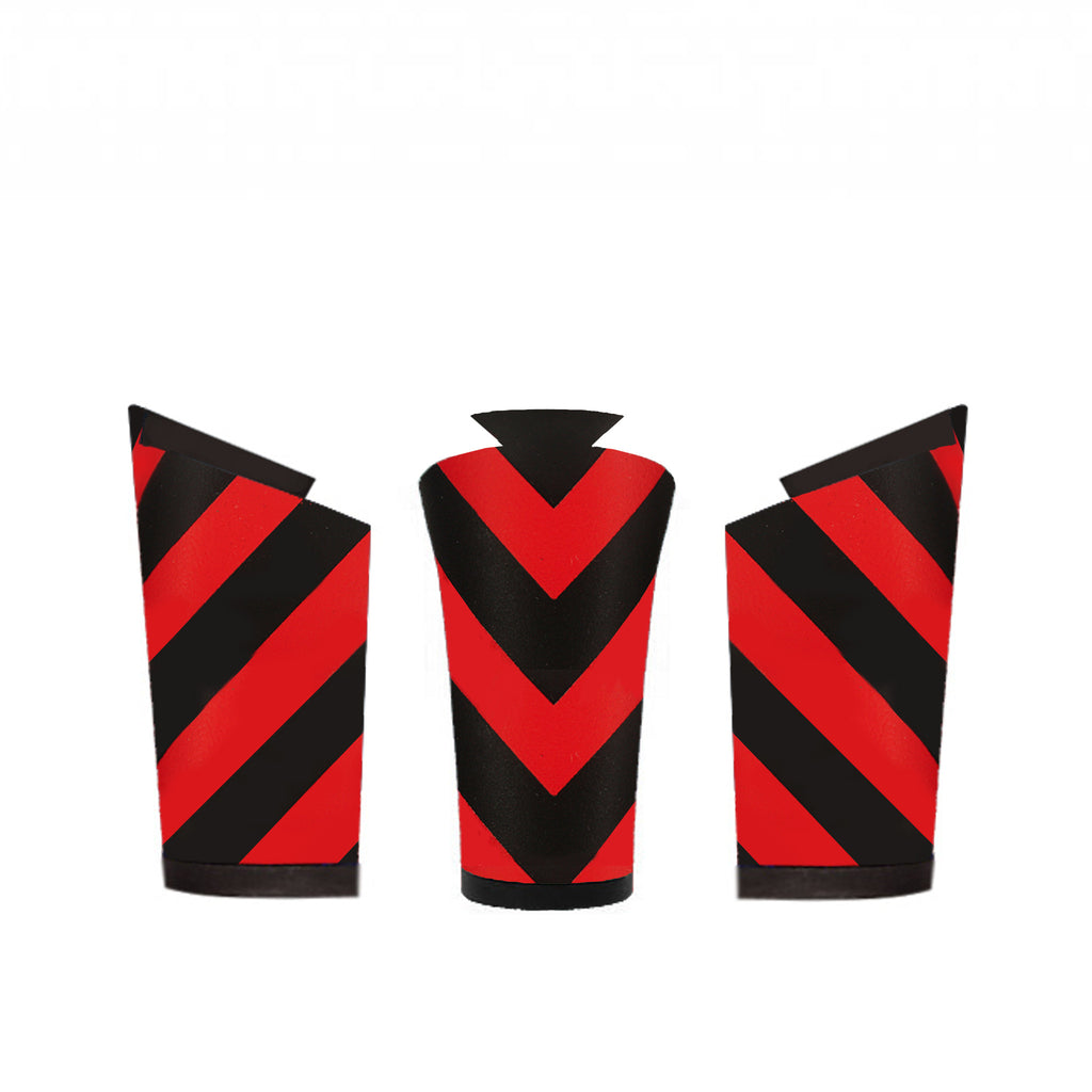 Denis Black and Red Chevron