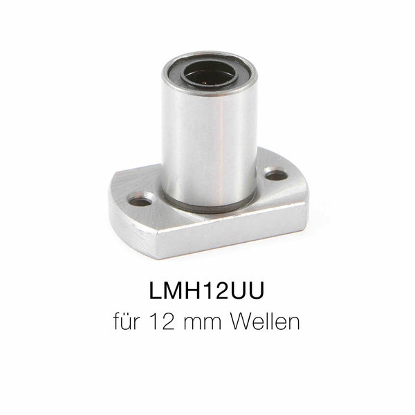 12 mm LMH12UU Linearlager mit Flansch
