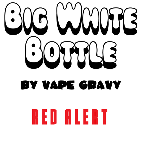 Big White Bottle - Red Alert