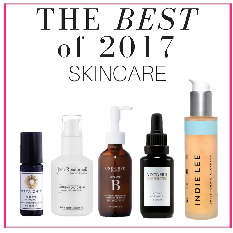 The Best of 2017 Skincare!