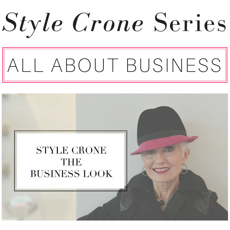 style crone series all about business
