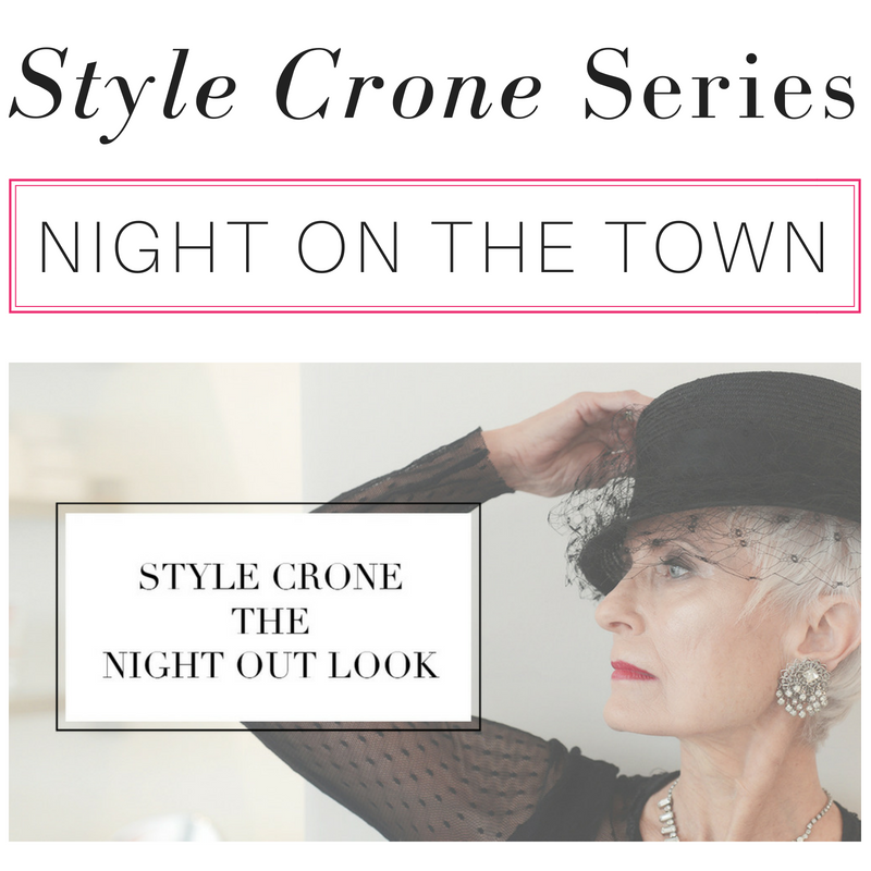 style crone series night on the town
