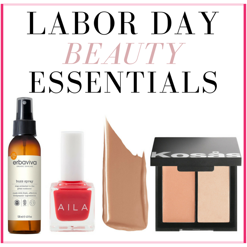 Labor Day Weekend Beauty Essentials