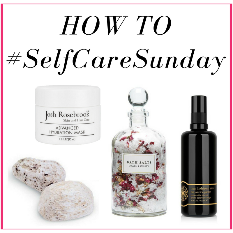 How to Enjoy #SelfCareSunday