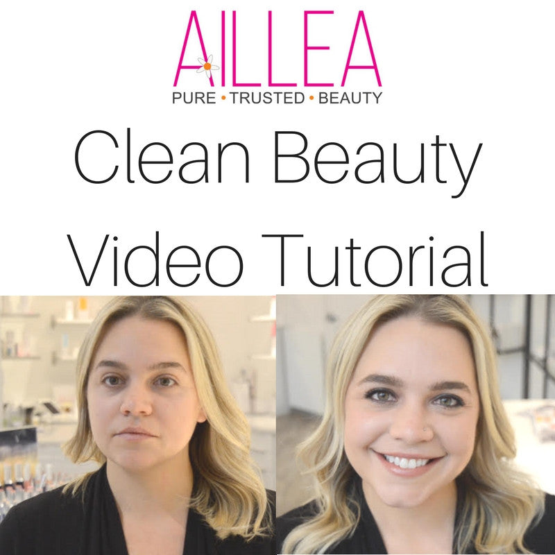 clean beauty video tutorial