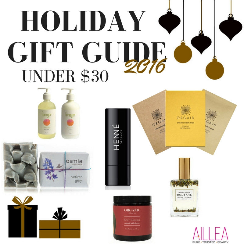 holiday gift guide 2016 under $30