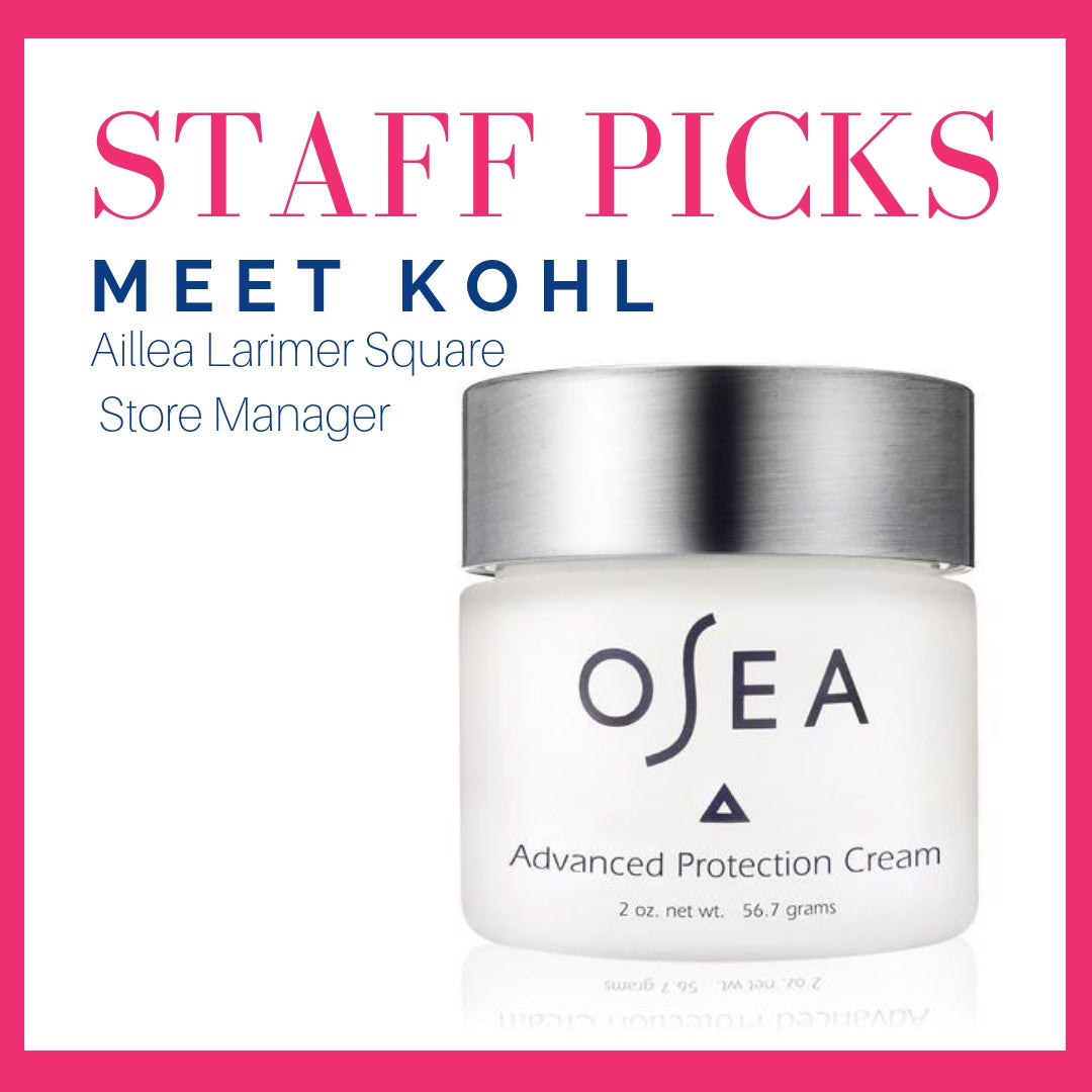staff picks: meet Kohl, Aillea Larimer Square Store Manager
