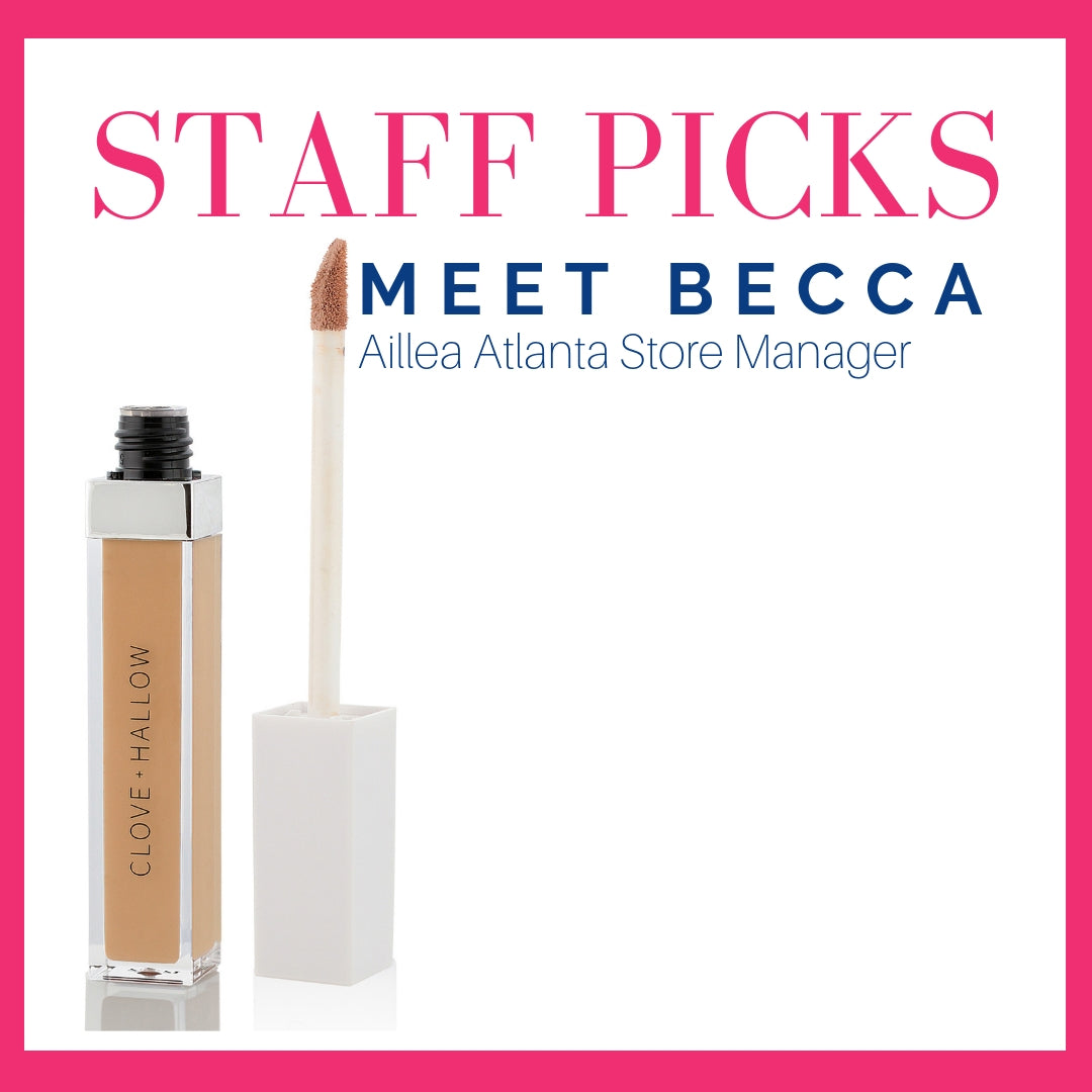 staff picks: meet Becca, Aillea Atlanta store manager
