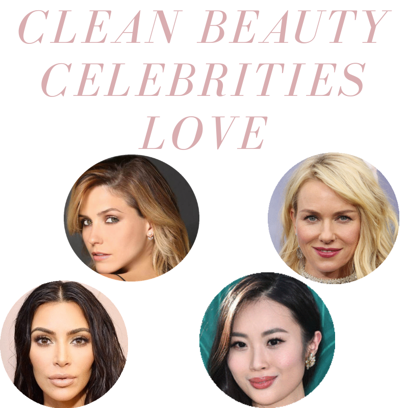 clean beauty celebrities love