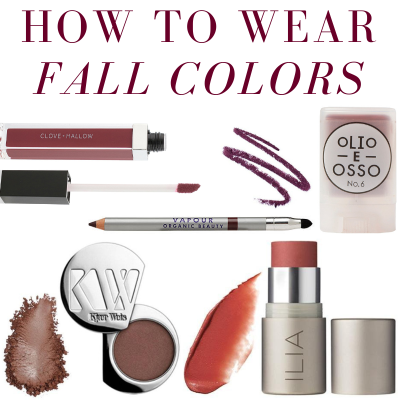 how to wear fall colors