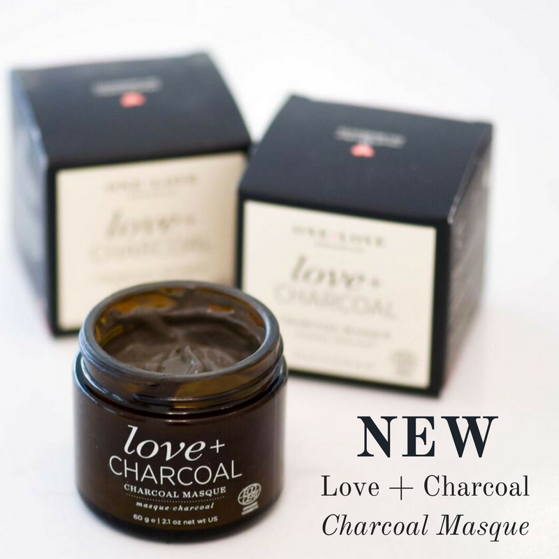 new: love and charcoal charcoal masque