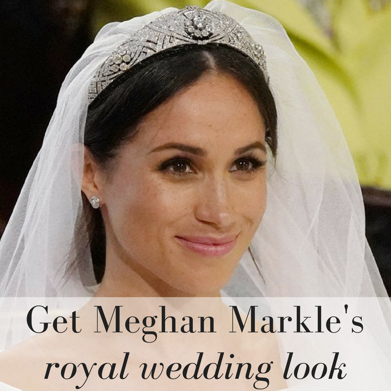 get Meghan Markle's royal wedding look