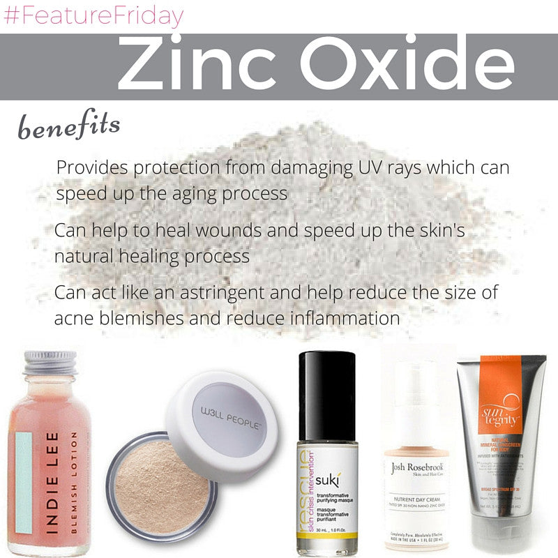 #FeatureFriday - Zinc Oxide
