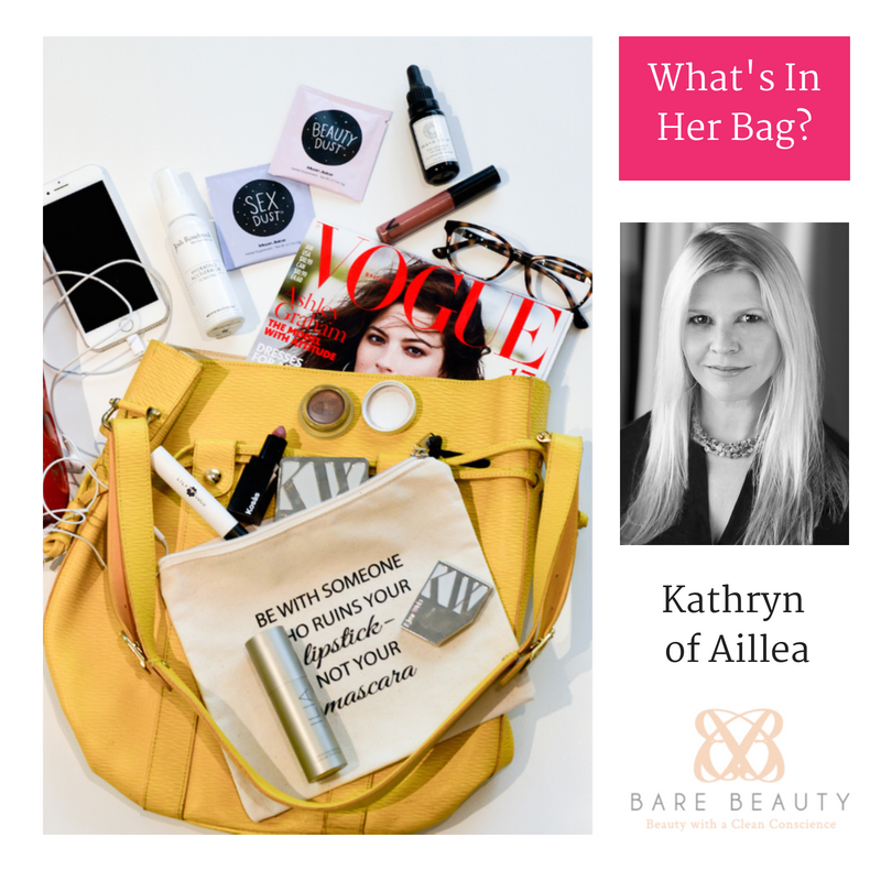 What's In Her Bag? - Kathryn of Aillea