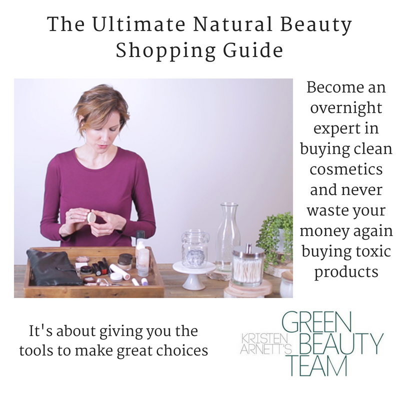 the ultimate natural beauty shopping guide. article from kristen arnett's green beauty team