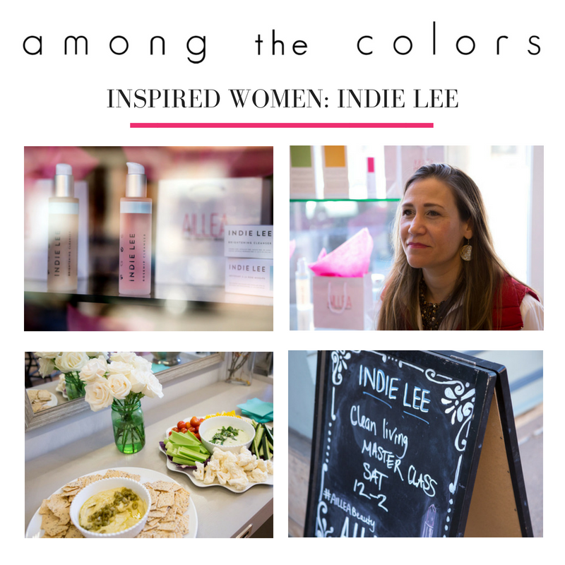 inspired women: indie lee. article by among the colors