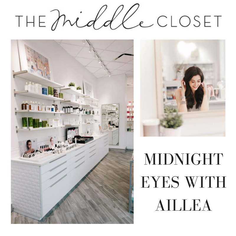 midnight eyes with aillea. article by the middle closet