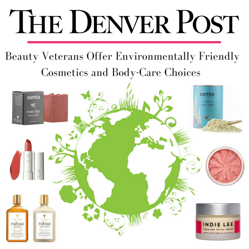 beauty veterans offer environmentally friendly cosmetics and body-care choices. article by the denver post