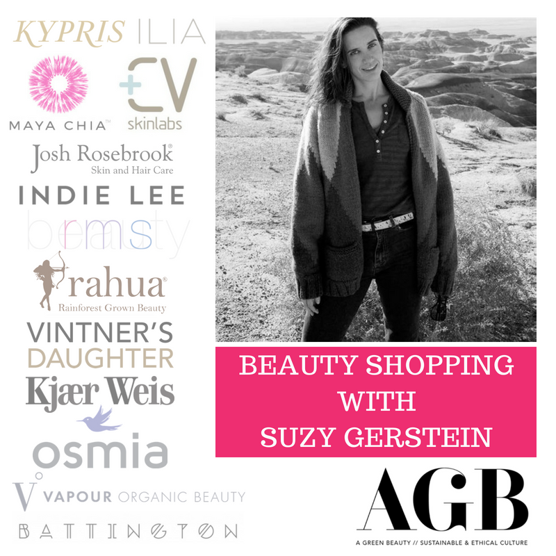 beauty shopping with suzy gerstein