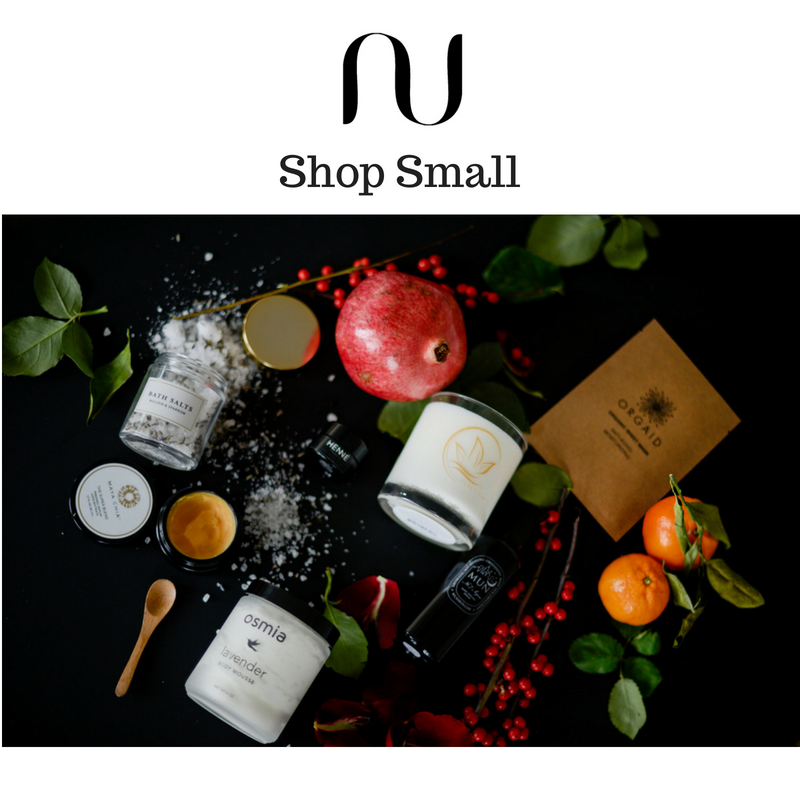 shop small. article by NU