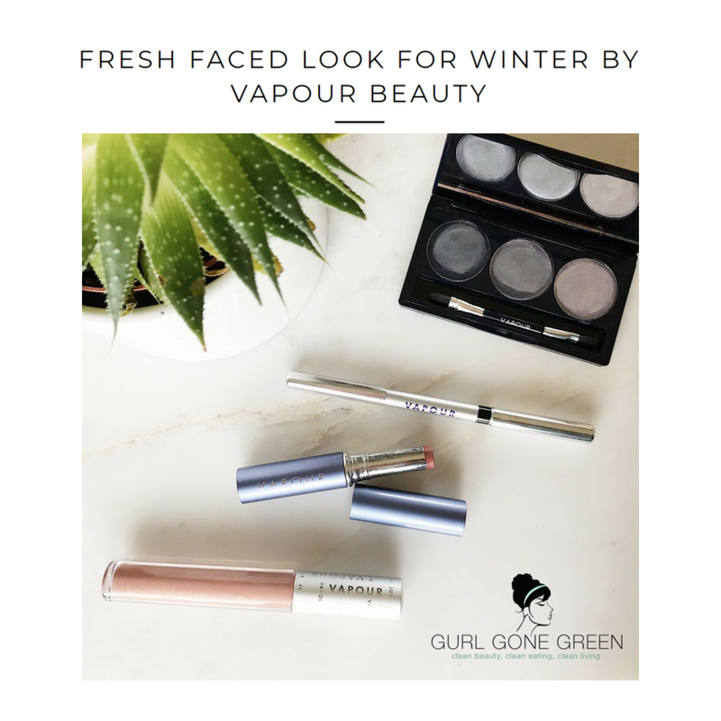 fresh faced look for winter by vapour beauty. article by gurl gone green
