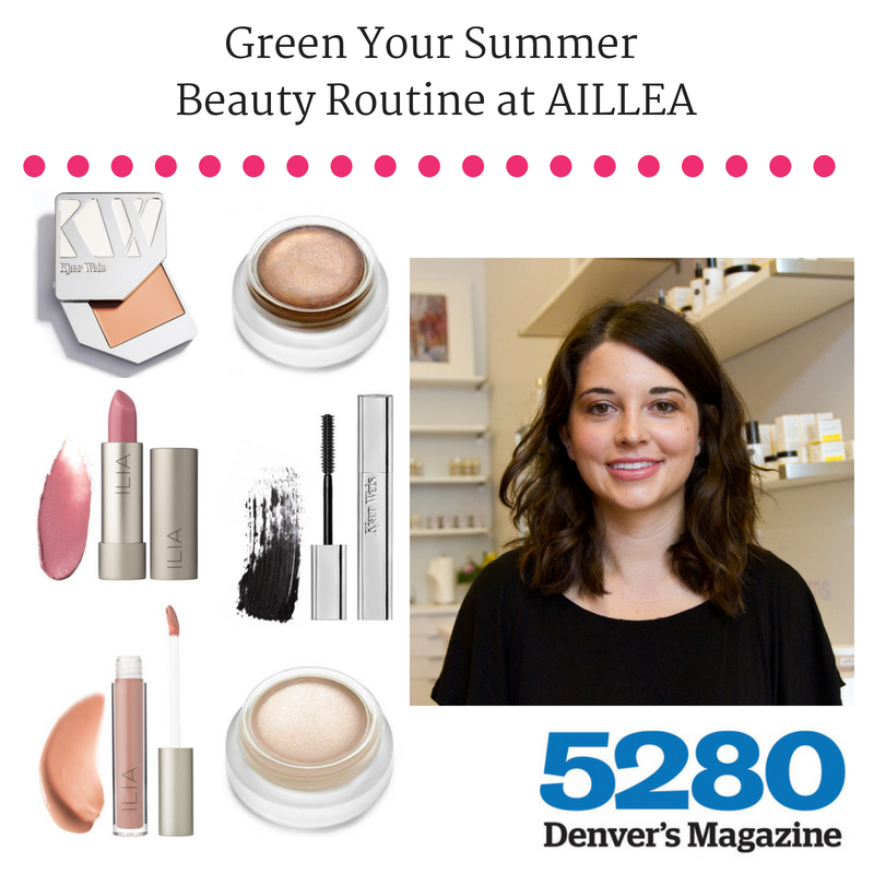 Green Your Summer Beauty Routine at Aillea
