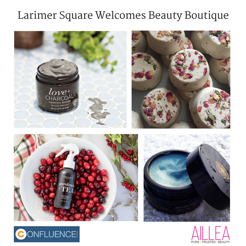 larimer square welcomes beauty boutique. article from confluence