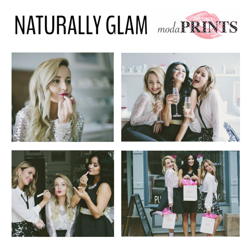 naturally glam. article from modaprints