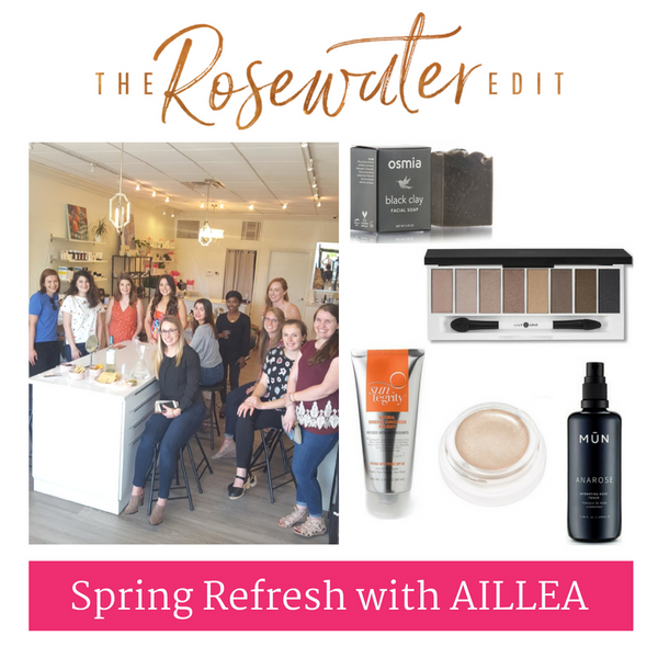 Spring Refresh with Aillea