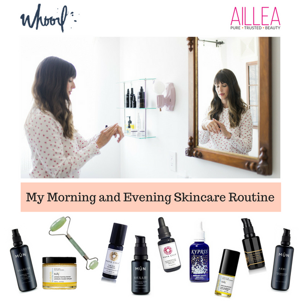 My Morning and Evening Skincare Routine