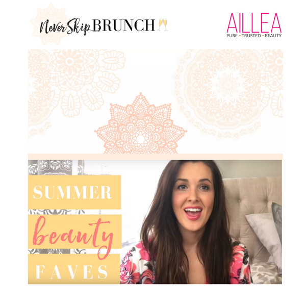 Summer Beauty Faves