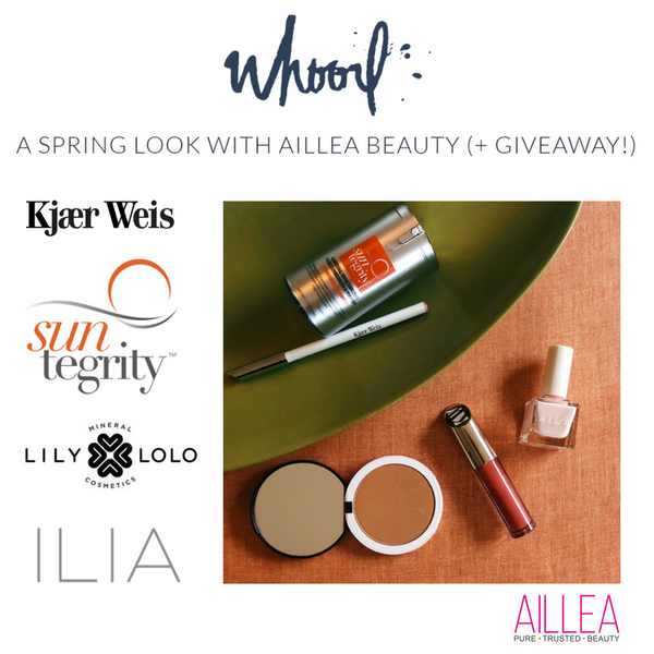 A Spring Look with Aillea Beauty (+Giveaway!)