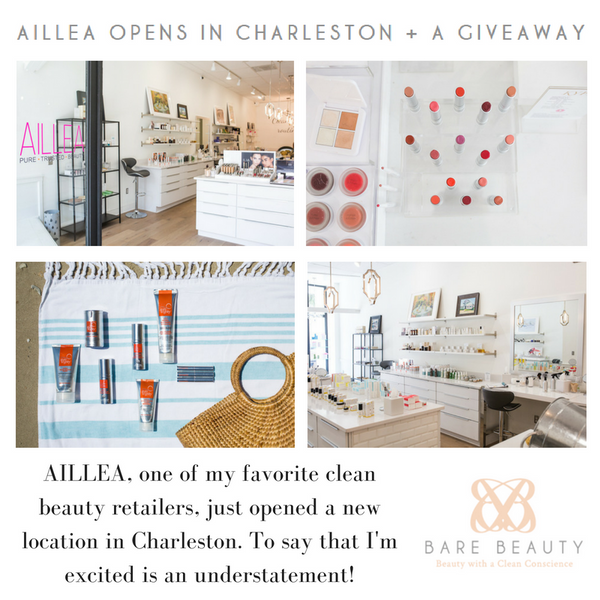 Aillea Opens in Charleston + A Giveaway
