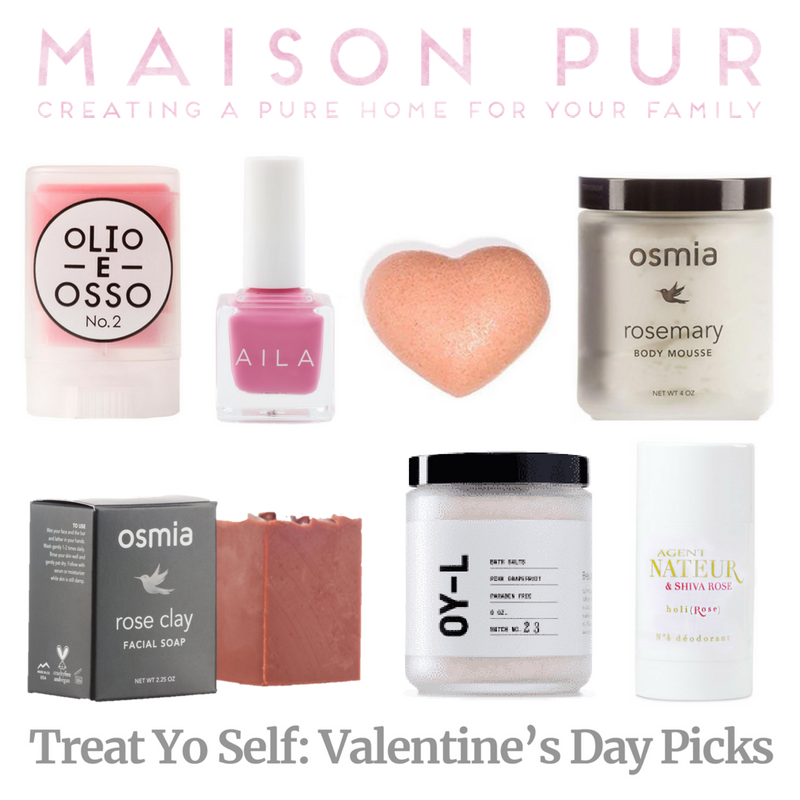 treat yo self: valentine's day picks. article from maison pur