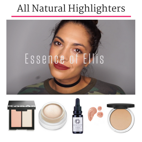 Try On Video - All Natural Highlighters