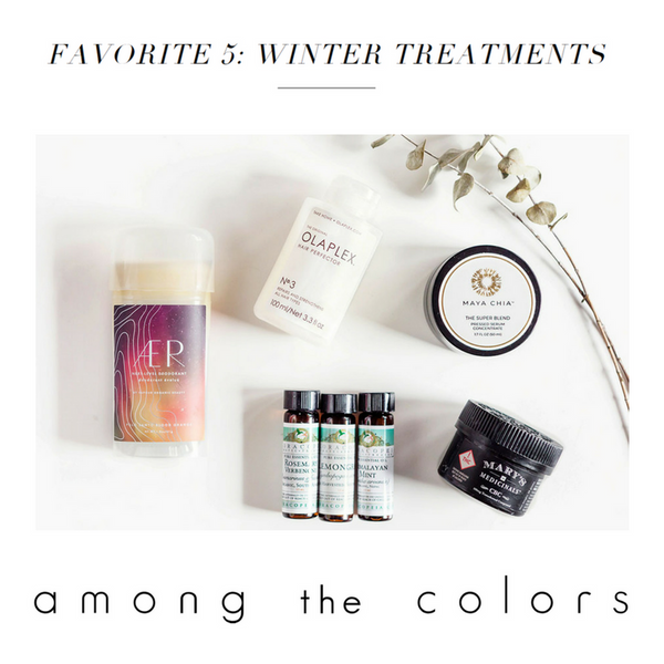 Favorite 5: Winter Treatments