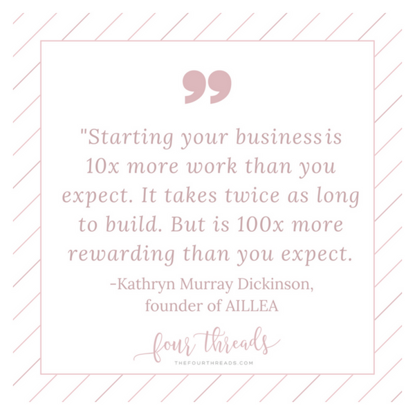 #GirlBoss: Aillea Owner, Kathryn Murray Dickinson