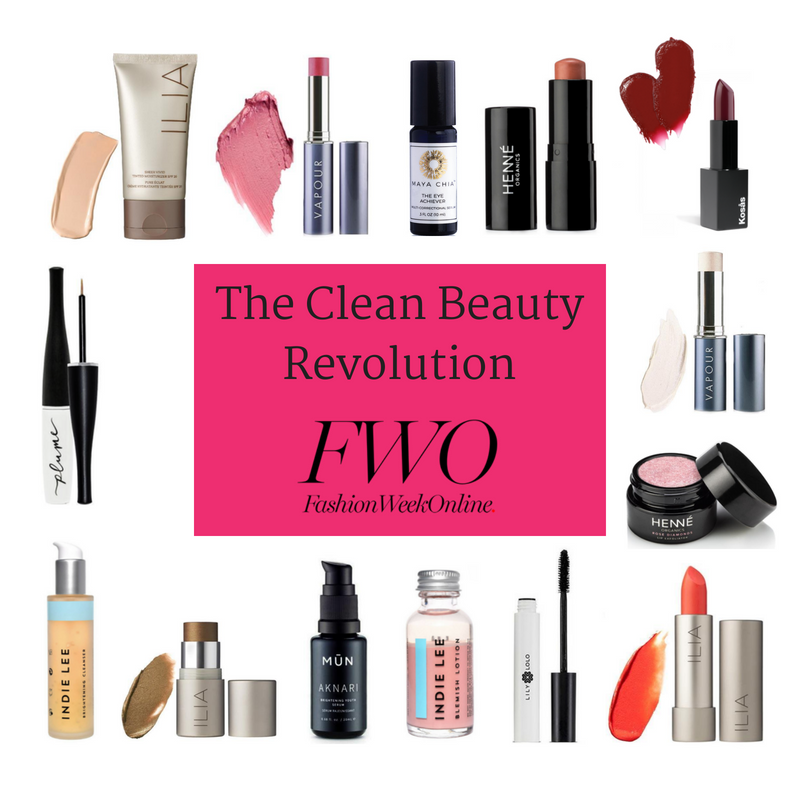 the clean beauty revolution. article from fashion week online