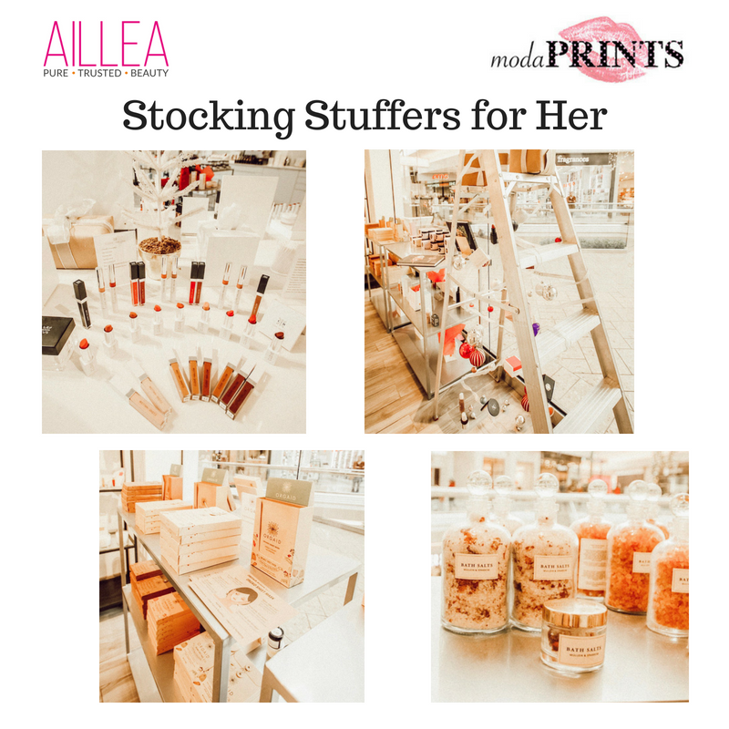 stocking stuffers for her. article by modaprints