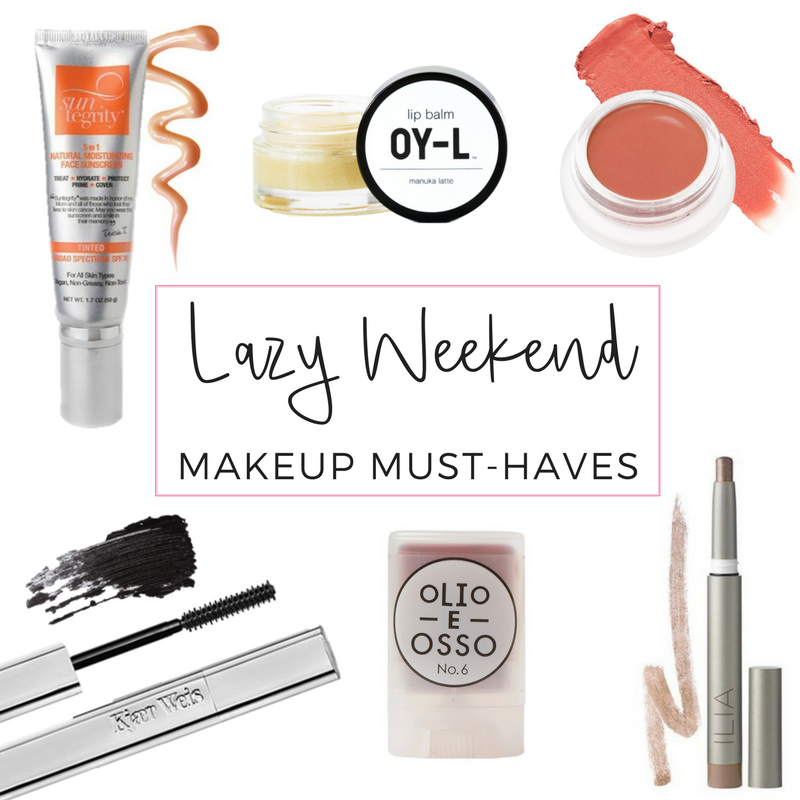 lazy weekend makeup must-haves