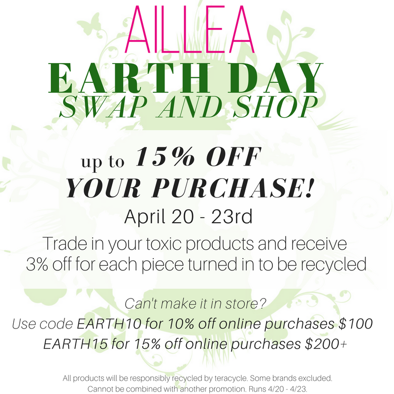 Aillea Earth Day swap and shop